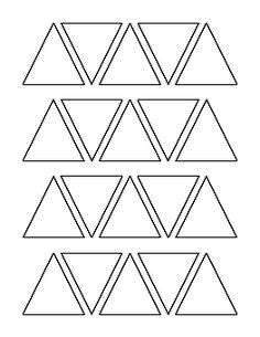 pattern triangle in c coffee cup pattern use the printable outline for crafts