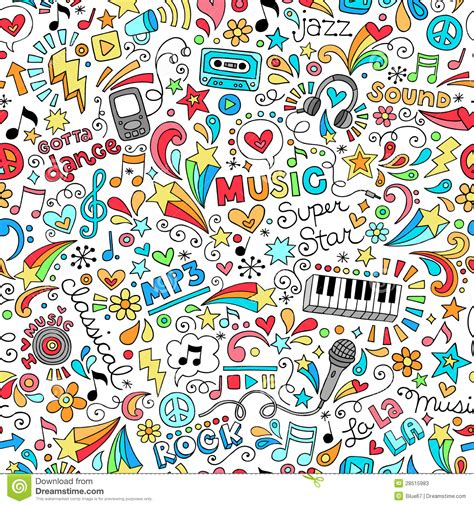 notebook doodle pattern music doodle doodles pinterest artworks search and
