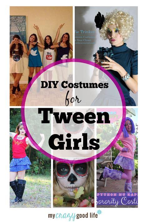 diy tween girl costume ideas tween halloween costumes