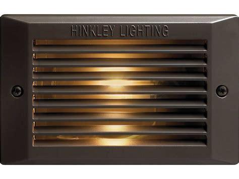 line voltage outdoor lighting hinkley lighting line voltage bronze outdoor deck light