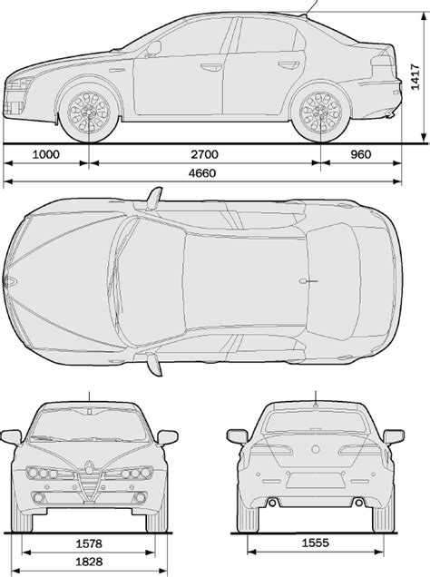 car dimensions in alfa romeo 159 dimensions car magazine auto reviews at www autopressnews