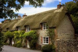 thatched cottages cerne abbas 6952 photo chris