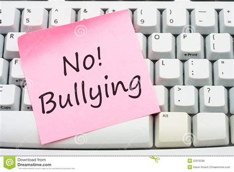 stop bullying royalty free stock image image