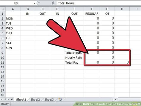 spreadsheet to calculate hours worked in excel natural