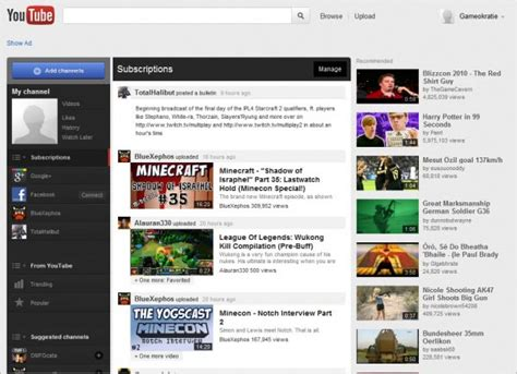 youtube videos news and tips ghacks technology news how to get the new youtube homepage right now ghacks