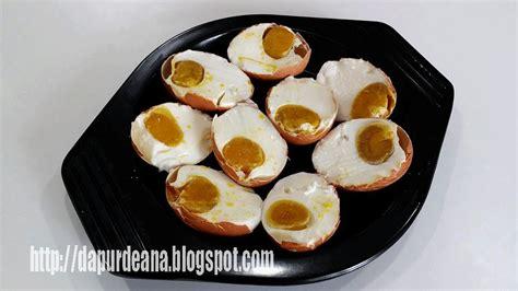 membuat telur asin telur ayam dapur deana telur asin dari telur ayam