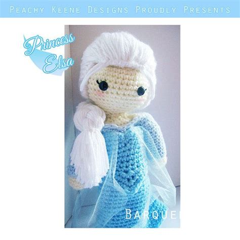 amigurumi elsa pattern free crochet doll frozen inspired princess elsa inspired