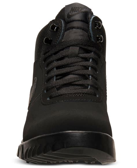 nike s boots lyst nike s hoodland suede boots from finish line in