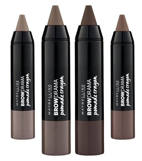 Maybelline Pomade Crayon Review maybelline new york eyestudio 174 brow drama 174 pomade crayon reviews find the best eyebrow pencils