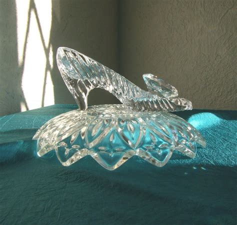 glass slipper centerpiece cinderella glass slipper wedding reception shower