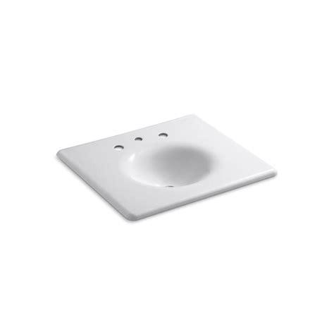 Home Depot Kohler Bathroom Vanity Kohler Iron Impressions 25 5 8 In X 22 1 4 In Vanity Top