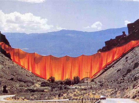 the valley curtain christo artiste m 233 galo lepouf