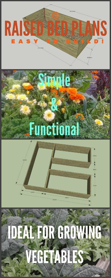 raised bed vegetable garden plan easy to build raised bed garden plans