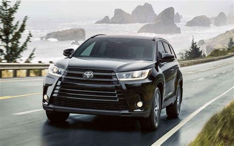 Toyota Models 2019 by 2019 Toyota Highlander Redesign And Release Date 2019