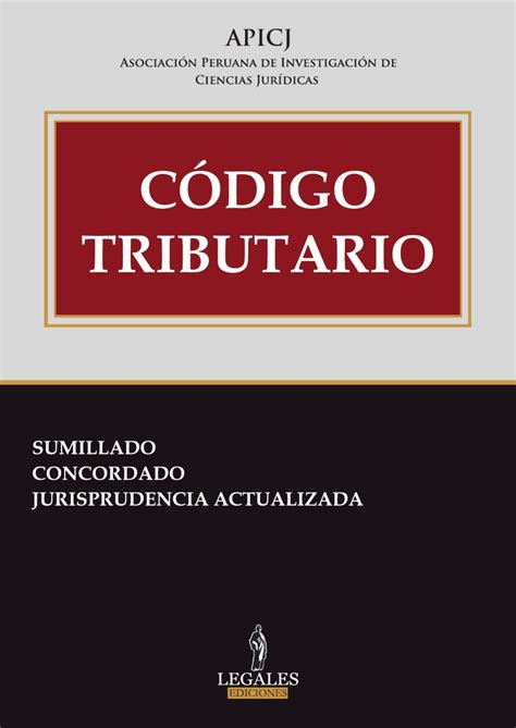 codigo tributario 2016 ecuador codigo tributario by ediciones legales e i r l issuu