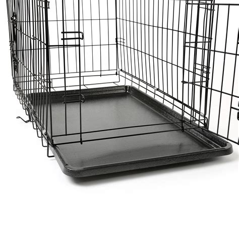 www gabbia gabbia per cani da interno con pawhut gabbia recinto da