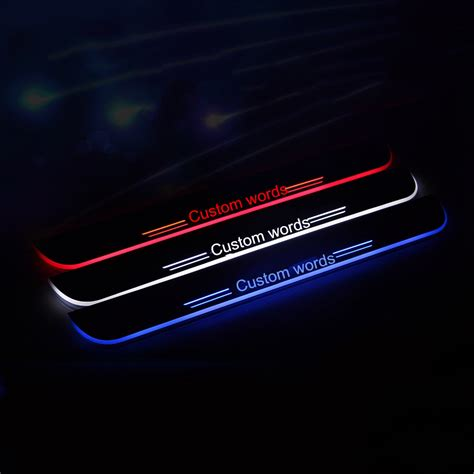 Door Sill Plate Led illuminated door sill plates door scuff promotion shop for