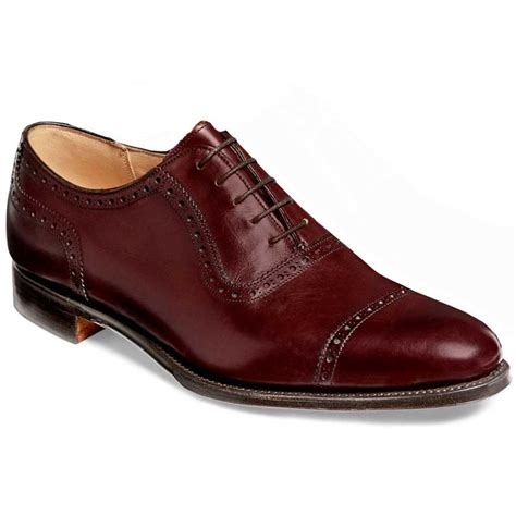 cheaney fenchurch leather sole oxford shoes