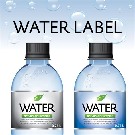 water bottle label design your own water bottle labels by label america you can put your
