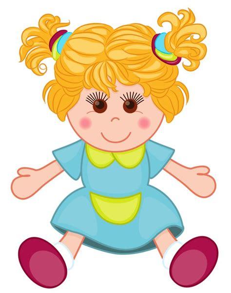 doll clipart 123 besten cliparts jouets bilder auf