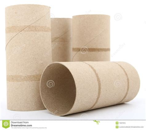 How To Make Paper Rolls - toilet paper rolls stock photo image 1337910