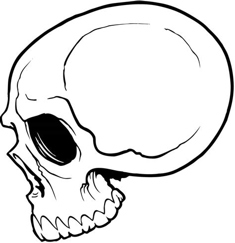 easy tattoo of skull simple cute skull drawing google search drawing to