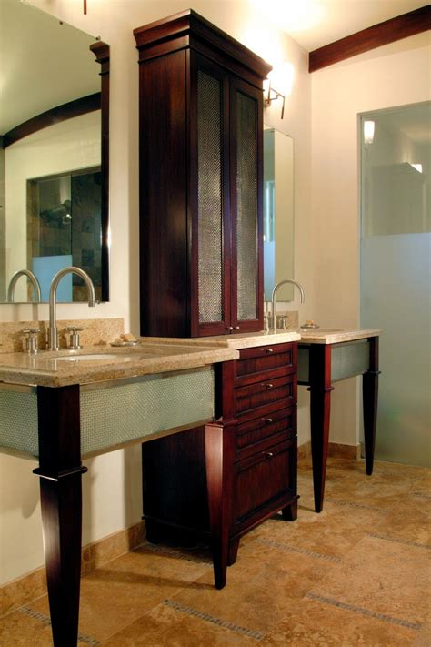 bathroom vanity shelving ideas 18 savvy bathroom vanity storage ideas bathroom ideas designs hgtv