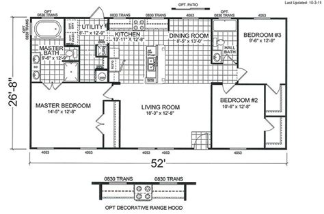 double wide floor plans 4 bedroom 4 bedroom double wide mobile home floor plans http