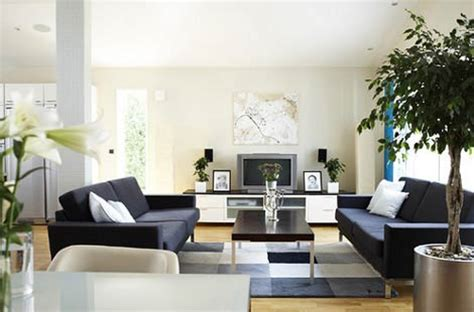 minimalist home decorating interior house design living room decobizz com
