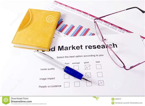stock market research paper market research royalty free stock photography image