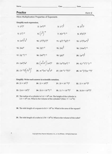 Properties Of Exponents Worksheet Answers by 28 Properties Of Exponents Worksheet Answers Exponent