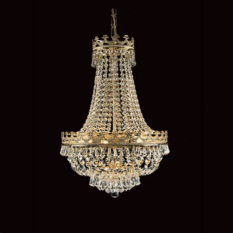 Impex St03016 45 08 G Lead Crystal Strass Empire Chandelier Strass Chandelier
