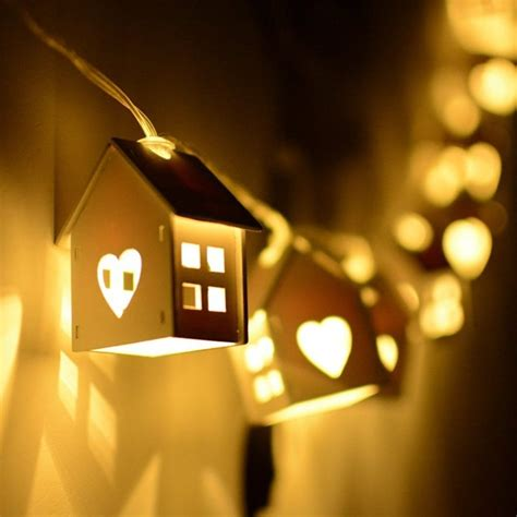 unique decorative string light for holidays home designing