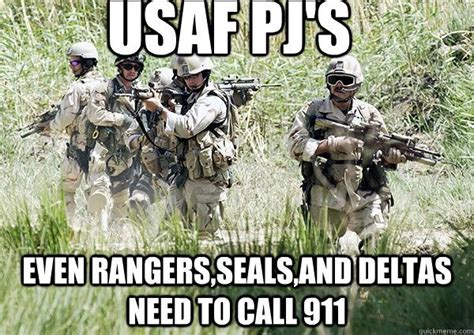 Army Ranger Memes - what is a usaf air commando and how do they rate on the spectrum of other special service units