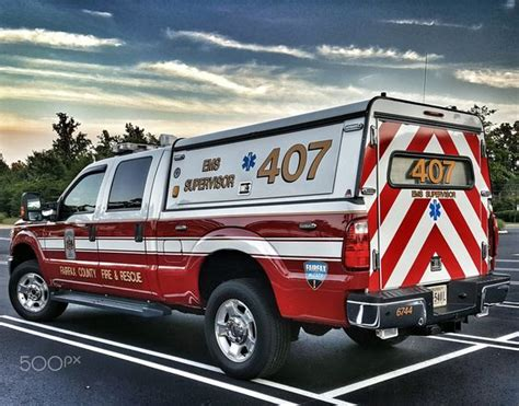 rescue northern va ems supervisor fairfax county rescue ems supervisor vehicle from the