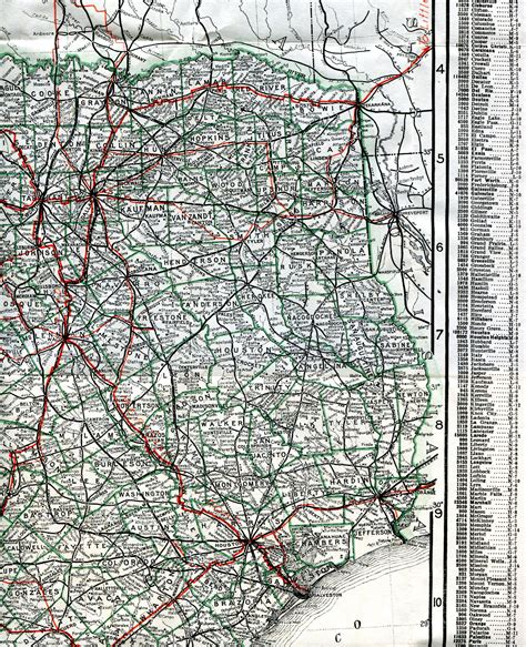 large printable road maps large map of west texas pictures to pin on pinterest