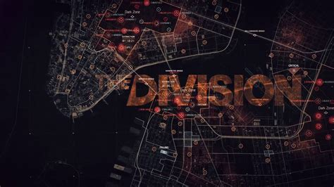 wallpaper engine video loop the division logo and map smooth loop wallpaper engine