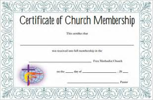 church membership card template sle membership certificate 7 documents in pdf psd