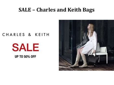 sale charles and keith bags