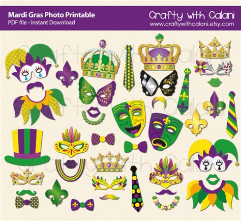 printable mardi gras photo booth props 11 easy diy projects to help you celebrate mardi gras