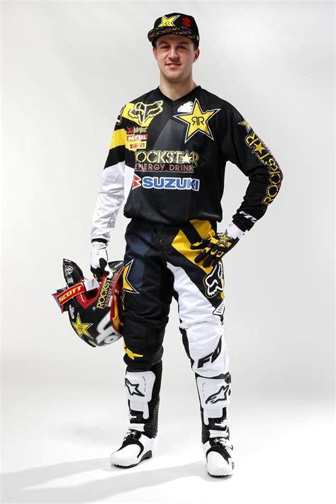 rockstar motocross boots clement desalle rockstar energy suzuki mx1