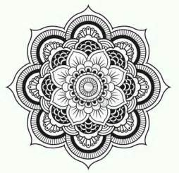 free coloring pages of mandala designs flowers