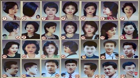haircuts approved in north korea north korea approved haircuts women 7 weird laws that you