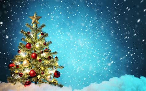 christmas tree new year wallpaper 2560x1600 174906