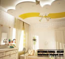 Unique House Designs Best 10 Creative Kids Room False Ceilings Design Ideas