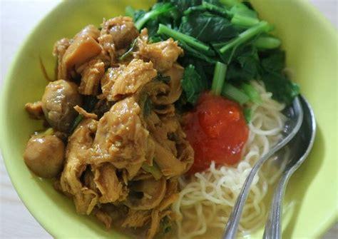 resep mie ayam jamur istimewa oleh yulaika widhiastuti