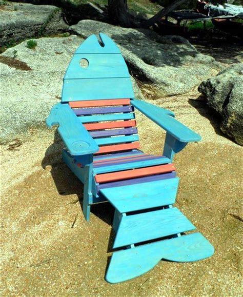 fishing chair ideas cool fish pallet adirondack chair ideas pallet furniture diy
