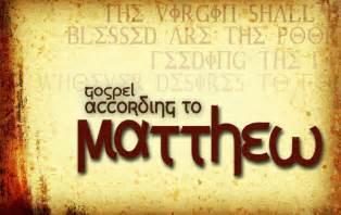 Gospel of matthew parish of the holy eucharist falmouth me