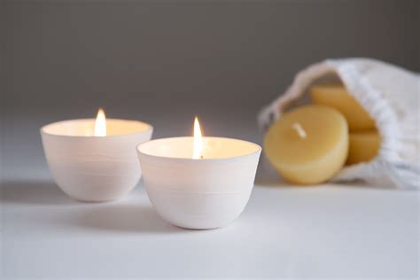 Candles For Holders Candle Holder Large Light Bowl Organic Beeswax Candles