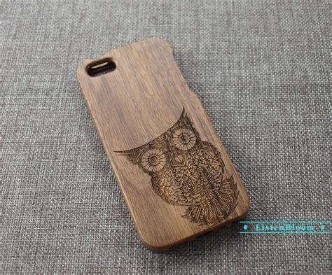 Owl Iphone 6plus by Custom Owl Wood Iphone Wood Iphone 6 Wood Iphone